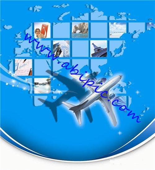 دانلود طرح لایه باز ایرلاین ها و شرکت ها باربری هواپیمایی PSD Airfreight
