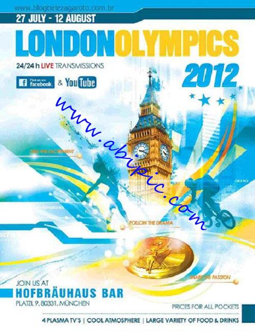 دانلود طرح اصلی پوستر لایه باز المپیک لندن Poster psd London 2012 Olympics