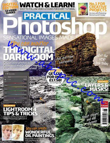 دانلود مجله Practical Photoshop کشور انگلستان تابستان Summer 2012