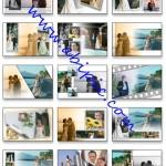 دانلود فون لایه باز PSD آلبوم عروس و داماد شماره 2