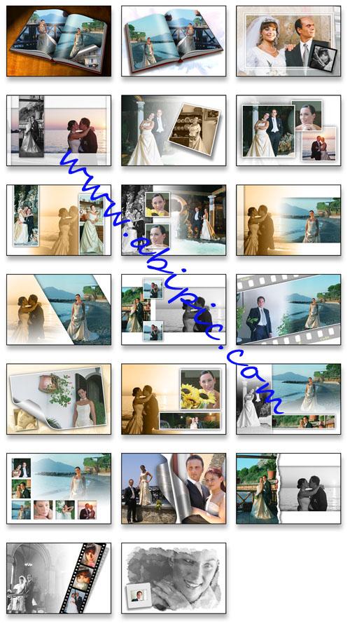 دانلود فون لایه باز آلبوم عروس و داماد شماره 2