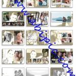 دانلود فون لایه باز آلبوم عروس و داماد شماره 1