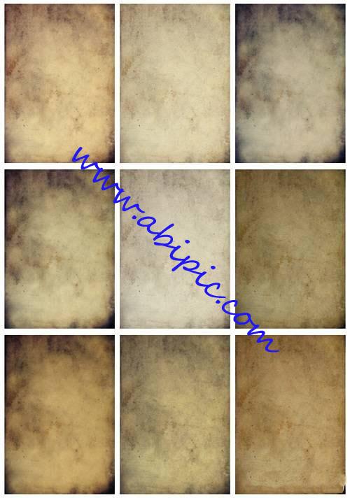 دانلود  10تکسچر کاغذهای قدیمی Set of old paper texture