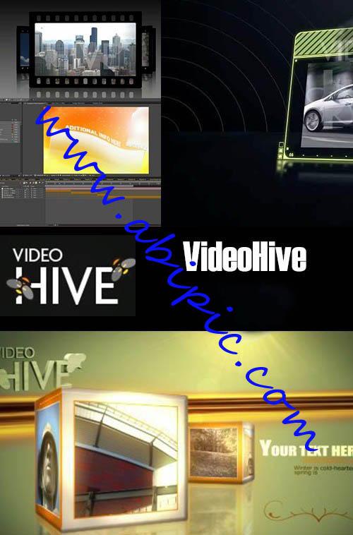 دانلود 6 پروژه افترافکت آماده از VideoHive After Effects projects