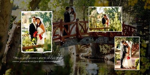 دانلود فون و قاب عکس عروسی کم حجم شماره 6