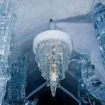 تصاویری بسیار زیبا از هتل ساخته شده از یخ در کانادا