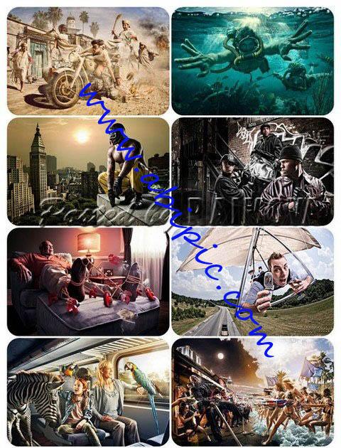 دانلود نمونه کارهای David Hill عکاس آمریکایی