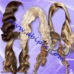 دانلود طرح لایه باز مدل موی خانم ها شماره 2