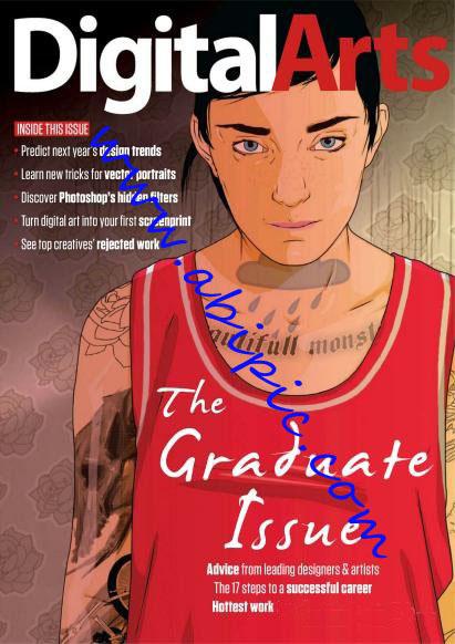 دانلود مجله گرافیکی Digital Arts شماره August 2012