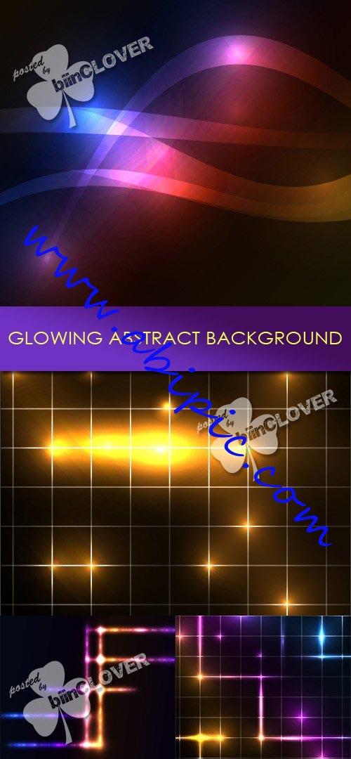 دانلود وکتورهای پس زمینه گرافیکی با طرح درخشان Glowing abstract background