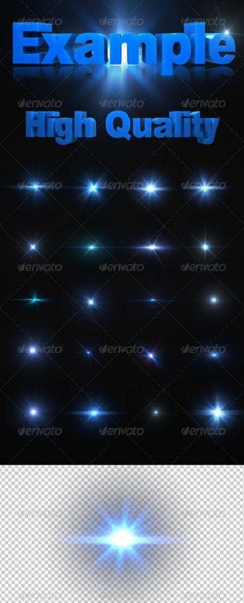 دانلود 20 لنز نورانی با کیفیت بالا برای طراحی HD Optical Lens Flares