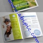 دانلود طرح آماده بروشور ایندیزاین GraphicRiver Business Brochure Clean Style