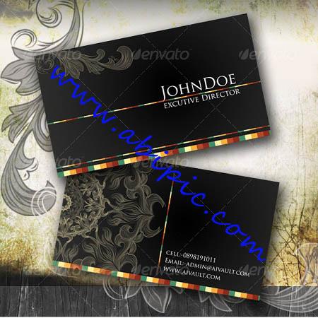دانلود طرح کارت ویزیت کلاسیک Classical Business Card