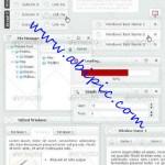 دانلود فرم و پنجره های شیشه ای لایه باز برای طراحی سایت