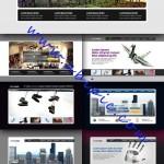 دانلود 10 هدر لایه باز حرفه ای برای طراحی سایت Website Headers