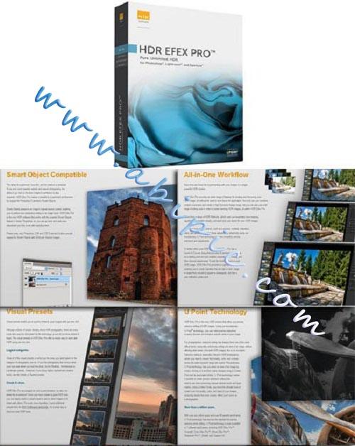 ساخت تصاویر HDR با نرم افزار Nik Software HDR Efex Pro 2.001 Rev 20203
