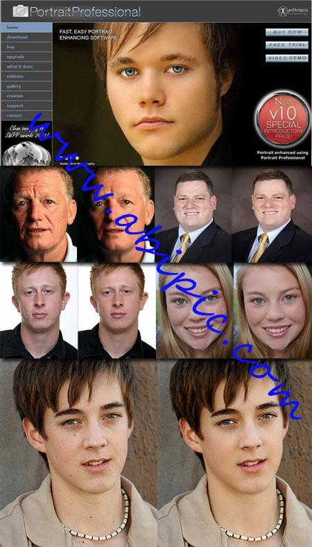 دانلود نرم افزار روتوش حرفه ای عکس Portrait Professional Studio 10.9.5
