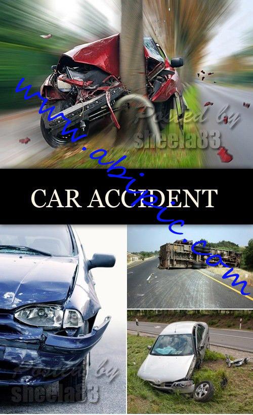 دانلود 6 عکس استوک تصادف ماشین Stock Photo Car Accident
