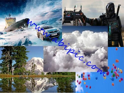 دانلود مجموعه بهترین والپیپرهای سایت آبی گرافیک سری 1