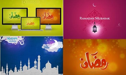 دانلود والپیپر و تصاویر گرافیکی ماه رمضان
