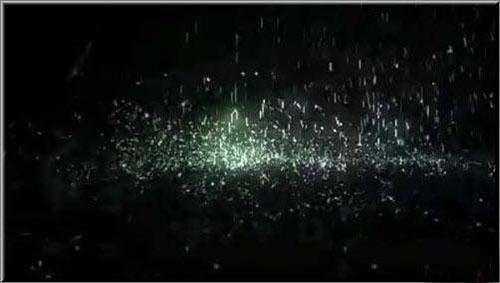 پروژه آماده افترافکت بارش باران با افکت نورانی