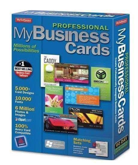 دانلود نرم افزار ساخت کارت ویزیت BusinessCards MX 4.7 Datecode 18.08.2012