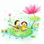 نقاشی کودکانه