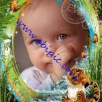 دانلود قاب عکس لایه باز زیبای کودک شماره 12 با نام من گم شده ام