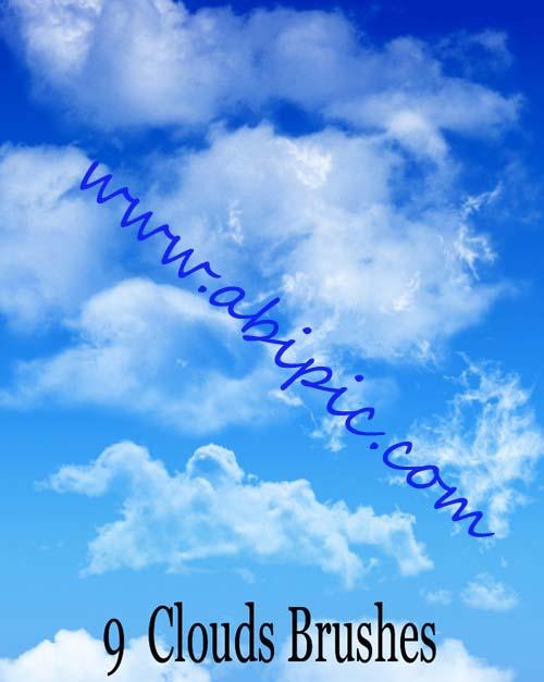دانلود براش ابر سری 4 Clouds Brushes Set
