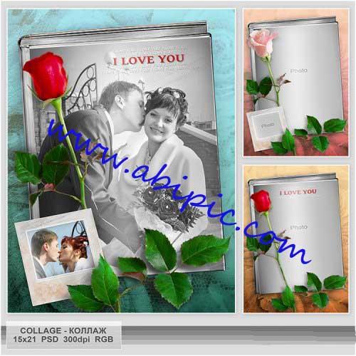 دانلود فون عکس عاشقانه لایه باز با نام خاطرات به یادماندنیض
