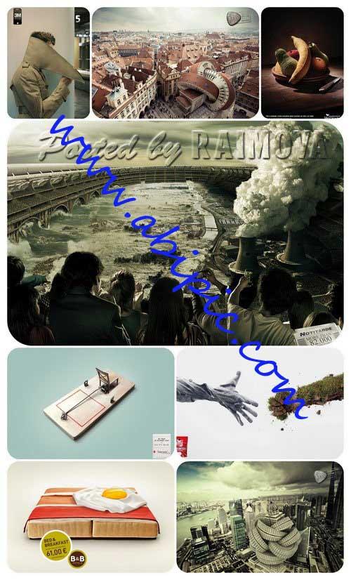 دانلود تصاویر تبلیغاتی و خلاقانه شماره 3 Creative advertising Part