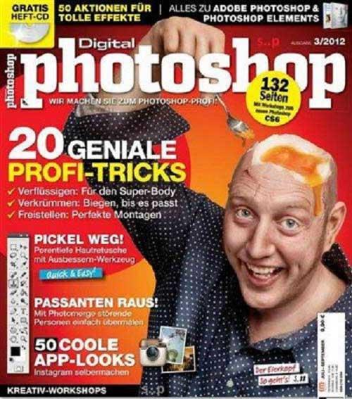 دانلود شماره 3 مجله Digital Photo Photoshop سال 2012