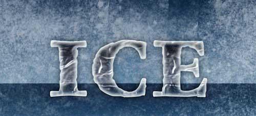 دانلود استایل یخ برای فتوشاپ Ice Layer Photoshop Styles