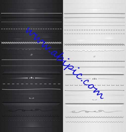 دانلود طرح های لایه باز برای جدا کردن بخش ها و پاراگراف هاPSD Separation