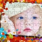 دانلود قاب عکس کودک با طرح پازل Photo frame – My puzzle شماره 13