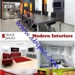 دانلود تصاویر استوک طراحی و دکوراسیون داخلی شماره 2 Modern Interiors