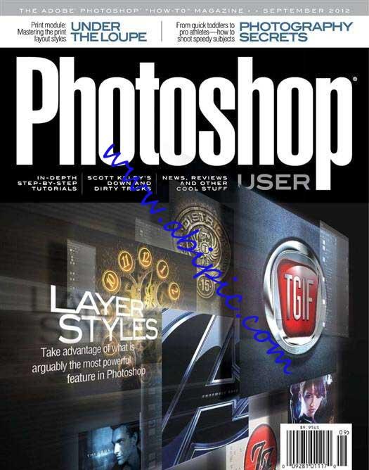 دانلود مجله گرافیکی Photoshop User شماره September 2012