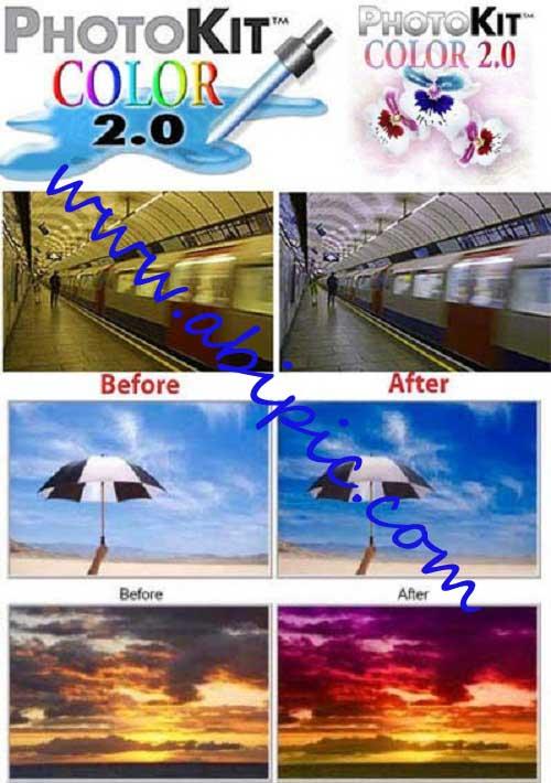 دانلود نرم افزار تغییر رنگ عکس PixelGenius PhotoKit Color 2.2.2