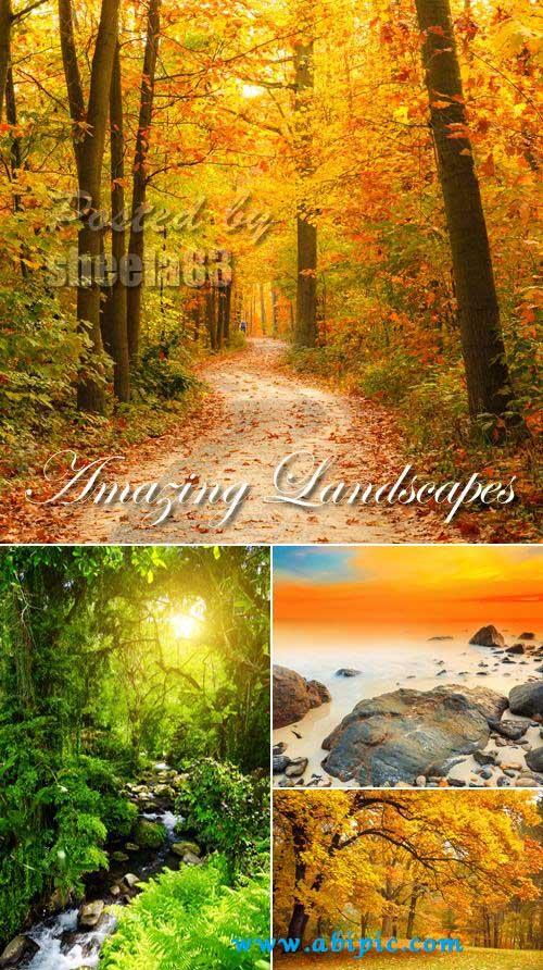 دانلود 5 عکس استوک منظره و طبیعت Stock Photo Amazing Landscapes