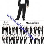 دانلود تصاویر وکتور مدیر Vectors – Managers
