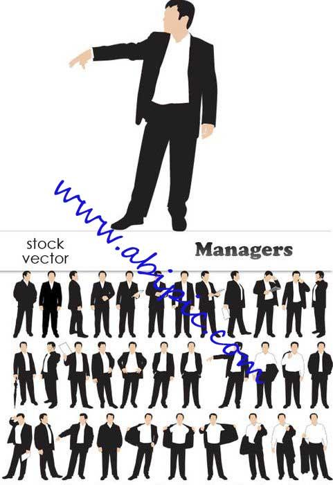 دانلود تصاویر وکتور مدیر Vectors - Managers