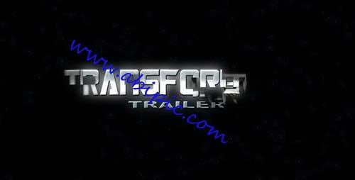 دانلود پروژه افتر افکت فیلم انتقال دهنده Transformer Trailer After Effects