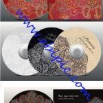 دانلود 5 وکتور زیبا برای کاور و طرح روی CD با طرح بته جقه