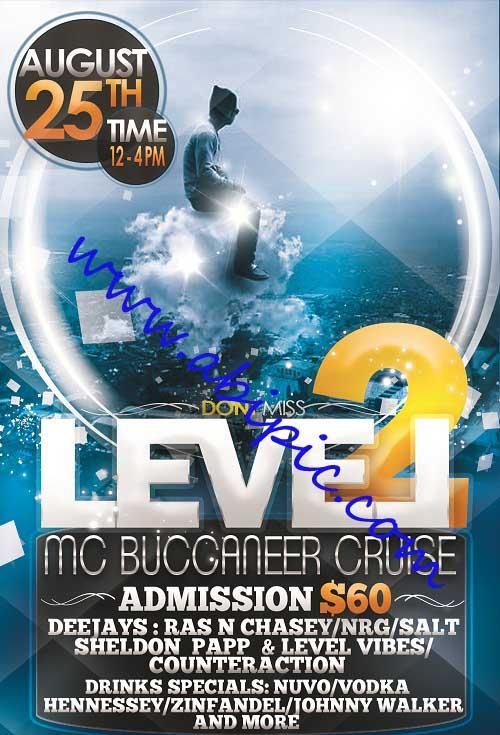 دانلود طرح لایه باز پوستر و تراکت تبلیغاتی PSD  Level Flyer-Poster