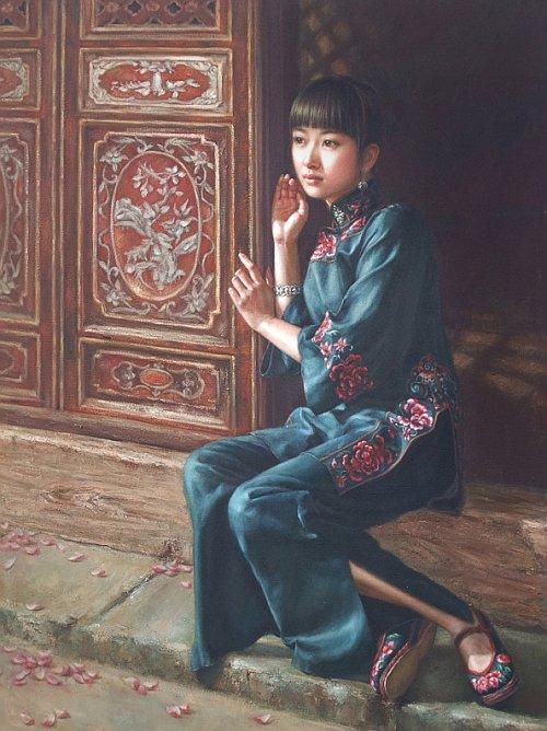 دانلود آثار هنری Xu Fang هنرمند زن چینی
