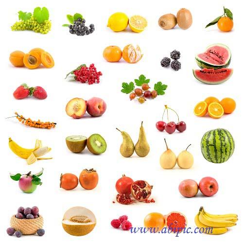 دانلود عکس شاتر استوک میوه شماره 3 Photo Different Ripe Fruit