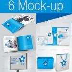 دانلود طرح لایه باز ست کامل اداری Corporate Identity Preview Mock-up