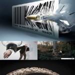 دانلود تصاویر خلاقانه و تبلیغاتی شماره 5 Creative advertising