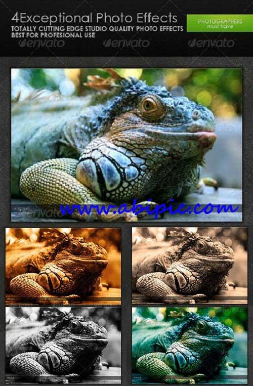 دانلود 4 اکشن حرفه ای برای عکاسان Exceptional Photo Effects