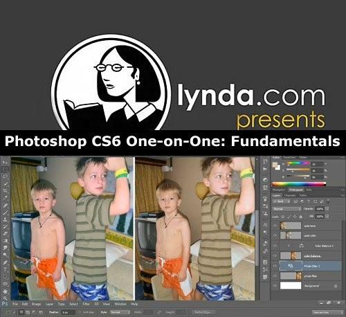 دانلود فیلم آموزش فتوشاپ Photoshop CS6 One on One Fundamentals